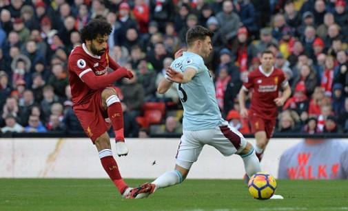 Salah equals Suarez's Liverpool record