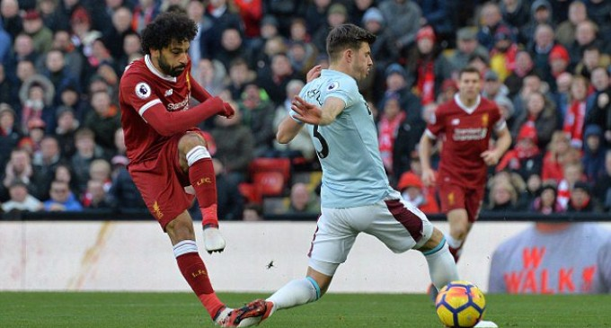Salah equals Suarez's Liverpool record