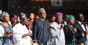 Buhari-Tinubu_Ambode State-dinner-for-Buhari