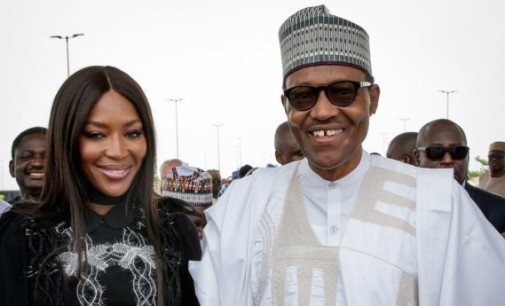 Controversy surrounds Naomi Campbell's meeting with Buhari