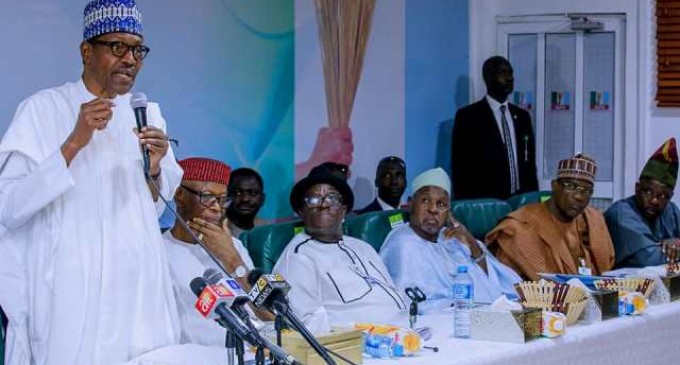 Shock at APC NEC as Buhari declares: I'll run