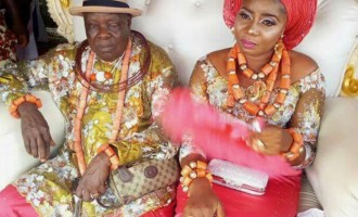 Old Wine Tastes Better…James Ibori's Elder brother, William Ibori, Marries Younger Lover.