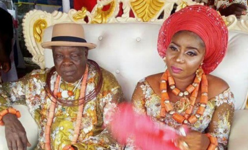 Not Too Old To Love….James Ibori's Elder Brother, William, Marries Younger Lover
