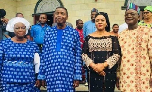 Benue killings made me weep, RCCG's Adeboye tells Ortom