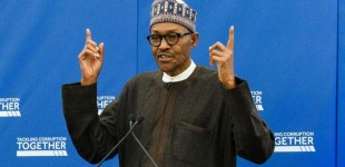 Nigerian youths like freebies, says Buhari