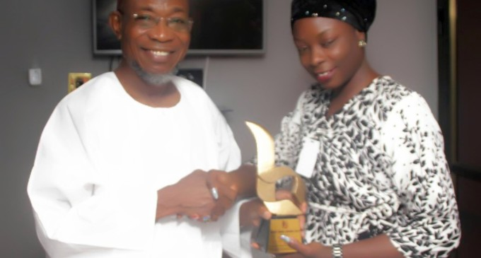 BODEX MEDIA AWARDS GOVERNOR RAUF AREGBESOLA AS THE MOST OUTSTANDING/CREATIVE GOVERNOR OF THE YEAR 2018.