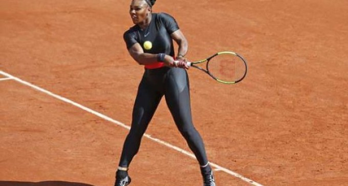 French Open: Serena makes fashion statement