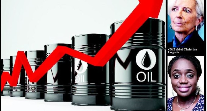 Oil price rise brightens hope for economy