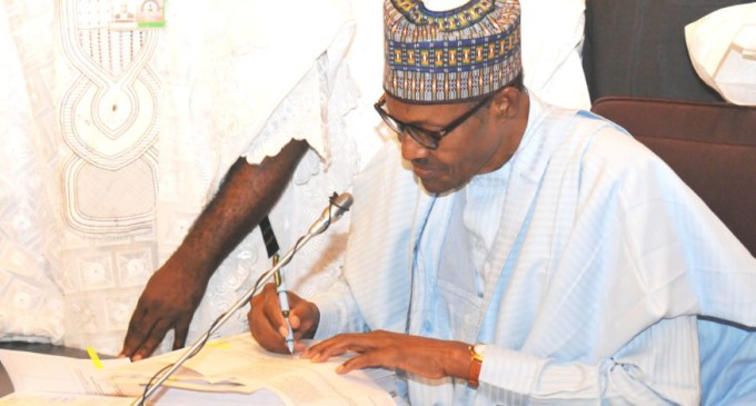 Why I refused to sign free trade agreement — Buhari