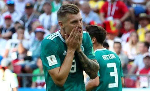 Defending champion, Germany, crash out of World Cup