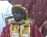 Honour Well Deserved! Oil Magnate, Dapo Abiodun, Becomes Doctor of Finance