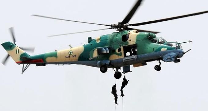 Polls: Military Jets, Soldiers Take Over Rivers, Akwa Ibom, Kwara, Adamawa