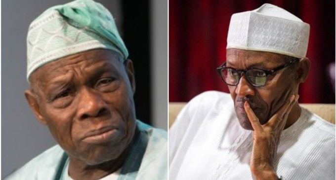 Why I stopped Adesina from replying Obasanjo's letter — Buhari