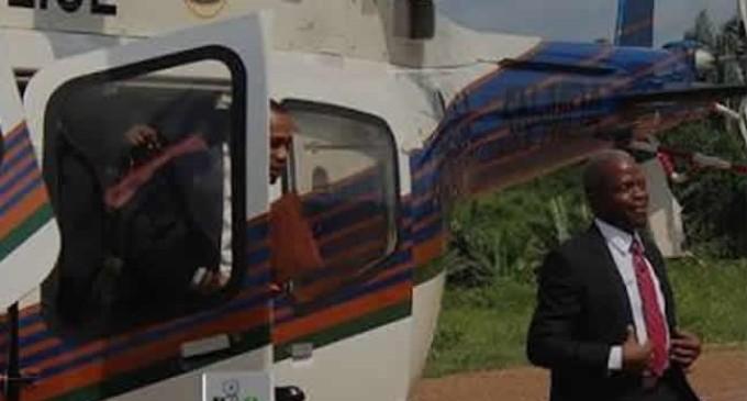 Osinbajo's chopper in emergency landing in Abuja