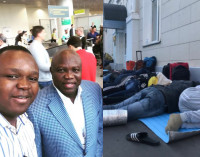 Good Samaritan! Governor Ambode Arrives Russia for World Cup finals, Sends Stranded Nigerians Home
