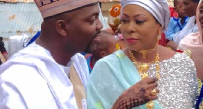 Breaking! Three Years After, Dehinde Fernandez's Widow, Halima, Remarries Younger Lover