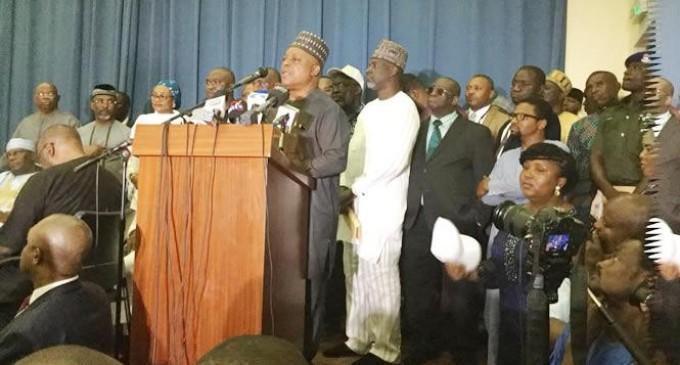 2019: PDP, SDP, R-APC, 36 others form alliance against Buhari