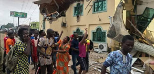 So sad! Oyo govt demolishes Yinka Ayefele's Music House