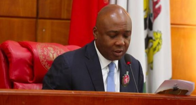 Oshiomhole has ignited civil war in APC – Saraki
