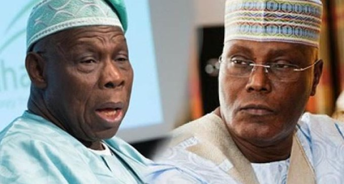 God won't forgive me if I support Atiku for president – Obasanjo