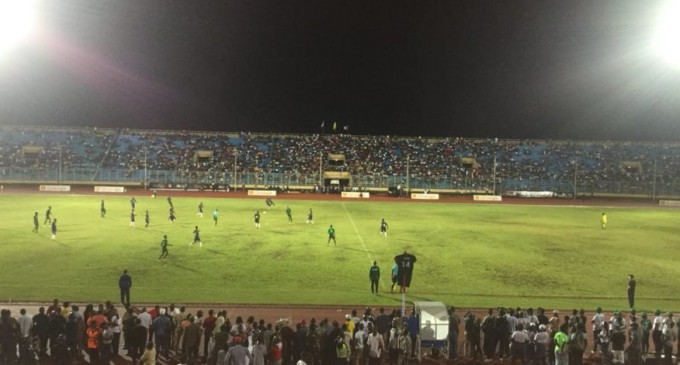Liberia president  Weah Plays against Super Eagles in friendly