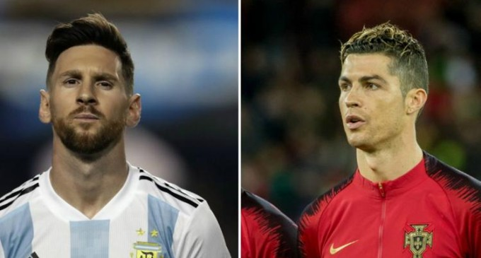 Ronaldo, Messi top FIFPro World XI shortlist