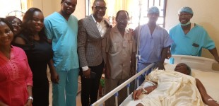 BREAKING: History made as Nigerian Woman Becomes Africa's Oldest IVF Mum…Delivers Baby Boy At 67yrs