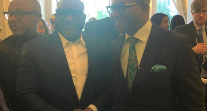 Roaring Applause for Ibe Kachikwu, Louis Ekere, Simbi Wabote, Other Nigerians at the Oil and Gas Investors' Meeting in the U.S