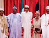 Shame! Gov. Amosun Tricks Royal Fathers, Alake of Egbaland, Olu of Ilaro, To Beg Buhari For His Lackey, Akinlade