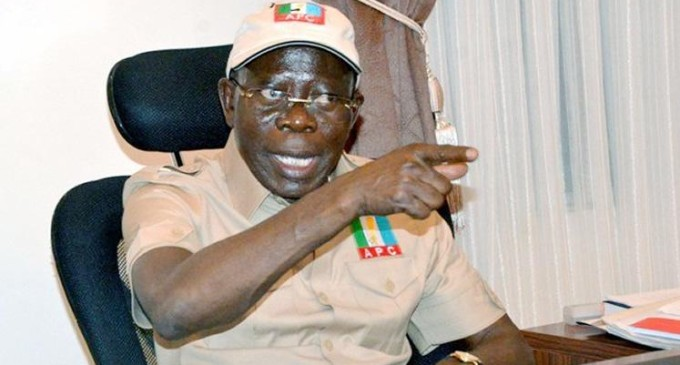 APC Crisis: Deadlock in anti-Oshiomhole Camp