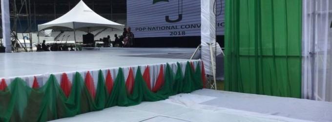 National convention: PDP delegates take over Port Harcourt