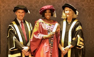 Dr. Mo!  Global Sweetheart… Mo Abudu Awarded Honorary Doctorate By University of Westminster