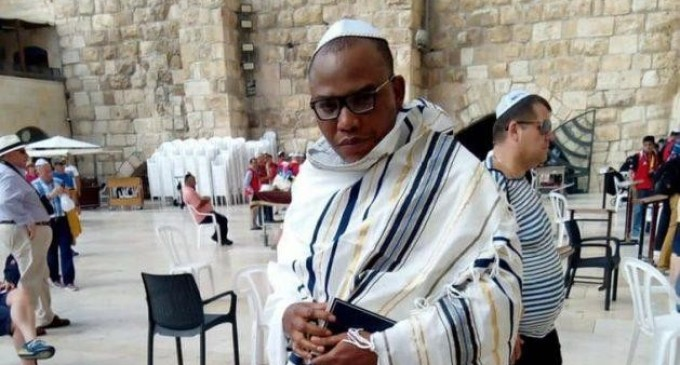 Nnamdi Kanu threatens to expose Buhari