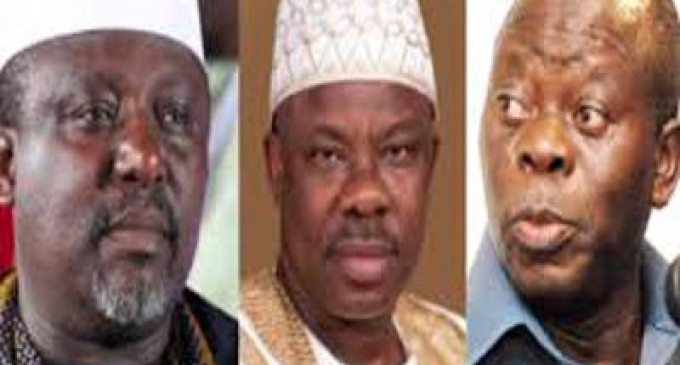 Oshiomhole, Amosun, Okorocha war of words escalates