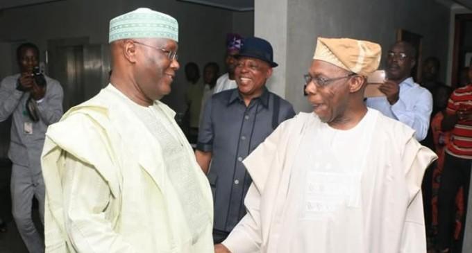 2019: Obasanjo, Atiku, Secondus Meet, Renew Strategies