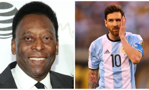 You Can't Compare Messi With Me, says Pele
