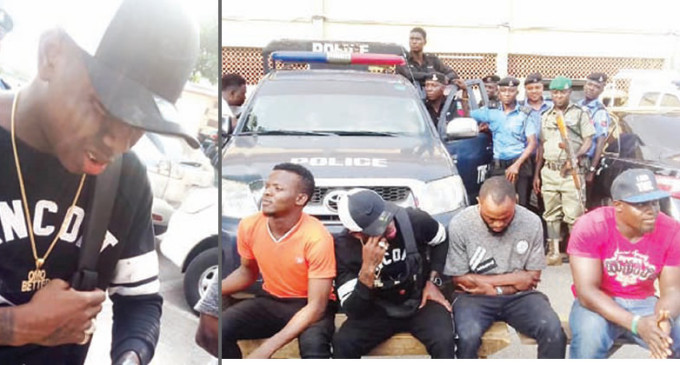 Musician, 'Small Doctor', Three Others Arrested For Possession Of Firearms