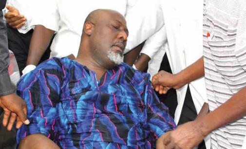 Drama as Dino Melaye 'Slumps,' Taken To The Hospital After Arrest