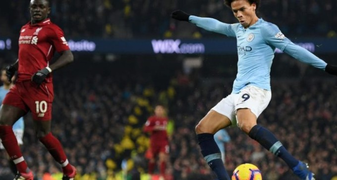 Manchester City End Liverpool's Unbeaten Run, cut EPL Lead to 4 Points
