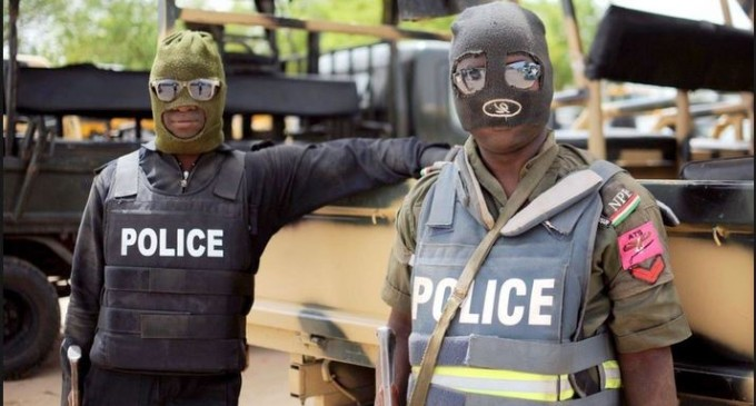 Breaking: Masked Policemen Whisk Away Dino Melaye From Clinic