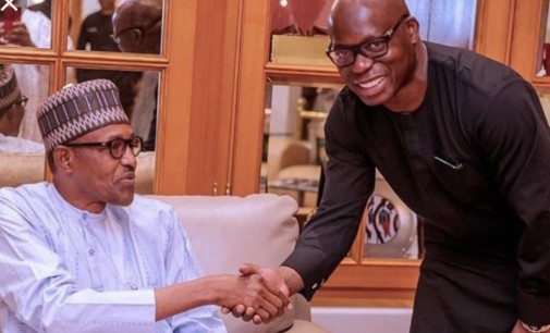 Fair Weather! After Atiku's loss, Oando Boss, Wale Tinubu, Parleys President Muhammadu Buhari