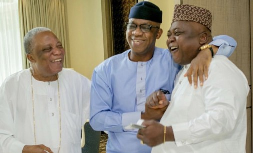 Let There Be Peace! Chief Kessington Adebutu reconciles Dapo Abiodun, Son, Ladi Adebutu