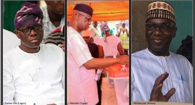Governorship: APC Lead In Lagos, Ogun, Kwara, Kebbi, Sokoto, Bauchi