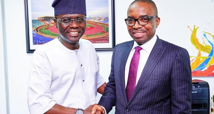 Zenith Bank CEO Designate Ebenezer Onyeagwu Visits Sanwo-Olu