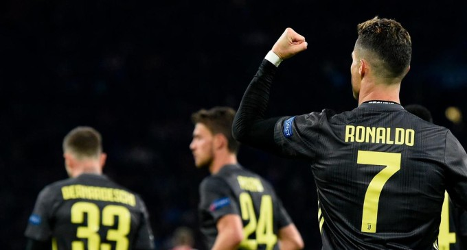 Ronaldo Gives Juventus The Edge In Champions League Quarter-final First Leg