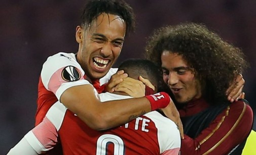 Arsenal Beat Napoli To Reach Europa League Semi-Finals