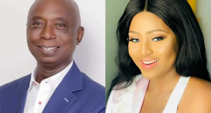 Regina Daniels Welcomes Baby Boy With Her Husband Ned Nwoko