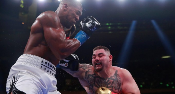 Breaking: Andy Ruiz Beats Anthony Joshua