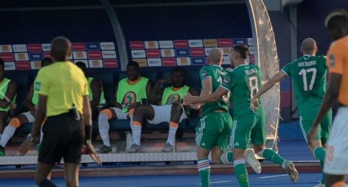 AFCON: Algeria Beat Ivory Coast, To Face Super Eagles In Semi-finals