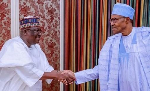 Just In: Buhari, NASS leadership meet in Aso Rock